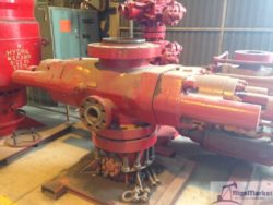 "Cameron Type U 13-5/8"" 5K GK Single Ram Blowout Preventer"