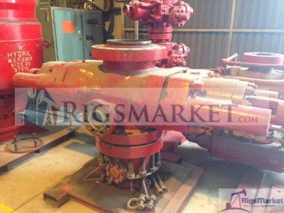 "Cameron Type U 13-5/8"" 5K GK Single Ram Blowout Preventer"