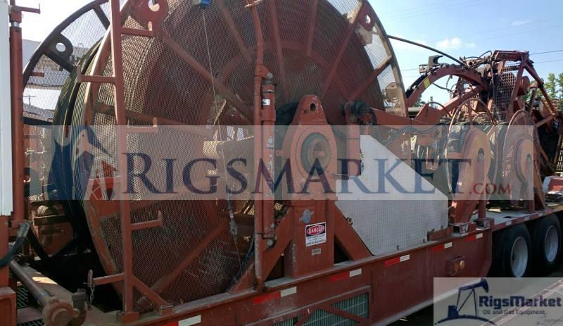 Coil Tubing Operator Odessa Tx: High Capacity Coiled Tubing Hydra Rig Unit- Two Trailer
