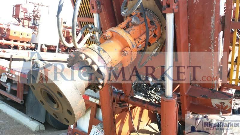 Coil Tubing Units Reel : High capacity coiled tubing hydra rig unit two trailer