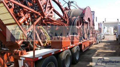 """S & S COILED TUBING UNIT – 2"""" – 80K COMPLETE UNIT"""