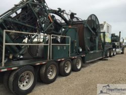 2012 Hydra Rig 1 3/4 Coiled tubing Trailer