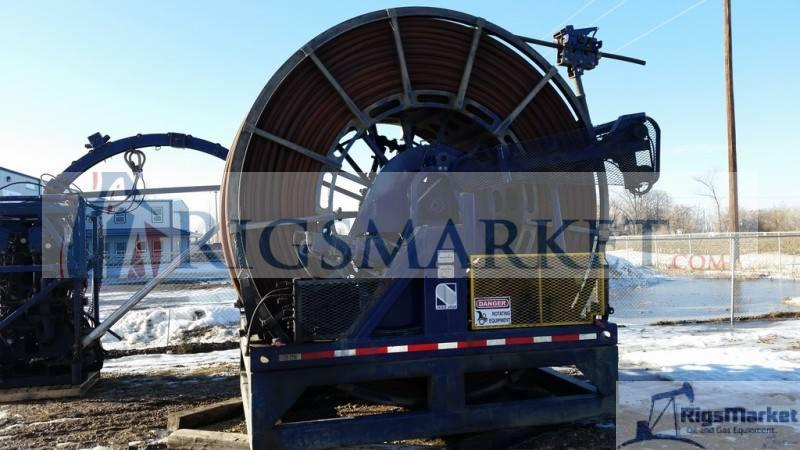 Coil Tubing Units Reel : Used hr injector in great working condition with