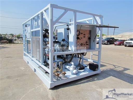 New Skid Nitrogen Pumping Unit