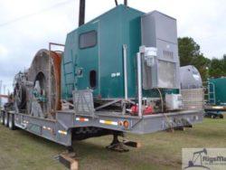 Used 100K lb Stewart Stevenson Coiled tubing trailer Unit