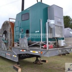 Used 100K lb Stewart Stevenson Coiled tubing trailer Unit
