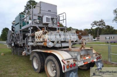 Used Stewart Stevenson Twin Pumping trailer