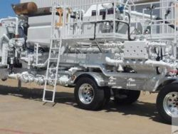 New Enerflow Double Pump Cementing trailer
