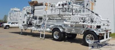 New Enerflow Double Pump Cementing trailer
