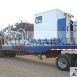 "Trailer Mounted Coil Tubing Unit Rated at 4,500-m with 1-1/4"" Tubing"