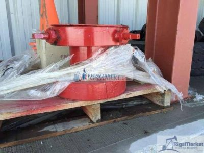 Coiled Tubing Hanger Assembly w/ Slips, Support Ring, Gland Ring & Packing