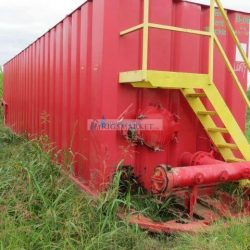 For sale are 200 500 BBL Frac Tank