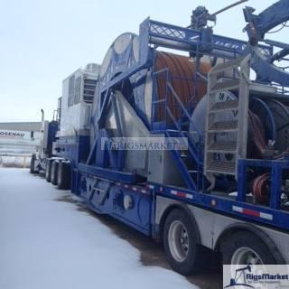 100k Hydra rig Trailer Mounted Coil Tubing Unit