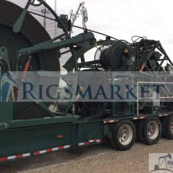 2008 Coiled tubing Unit with HR680, 1 1/2 Tubing