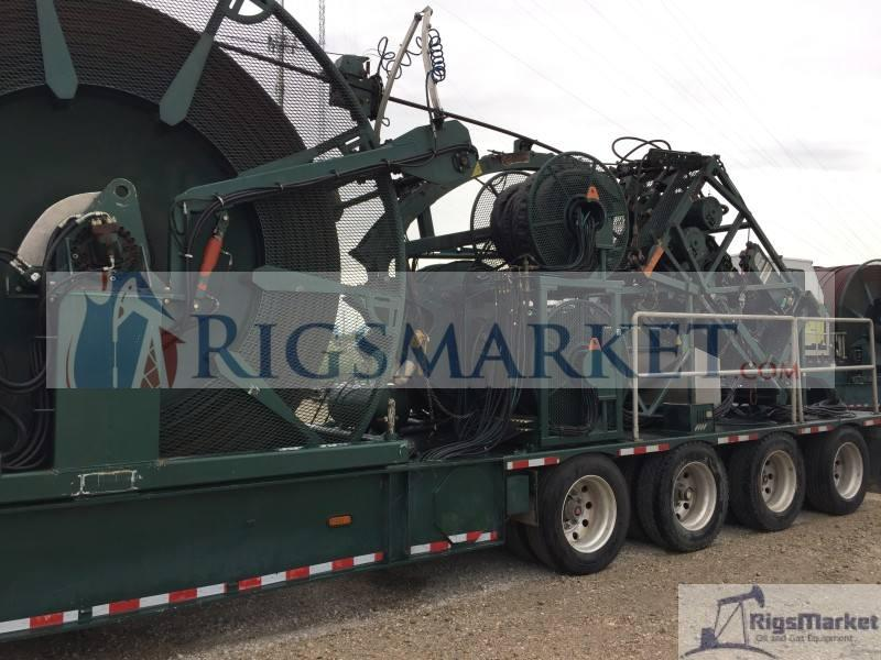 Coil Tubing Units Reel : Coiled tubing unit with hr  rigs market