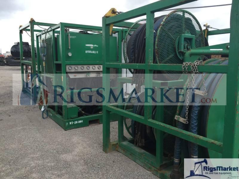 Hydra Rig Compact Skid Coiled tubing Unit