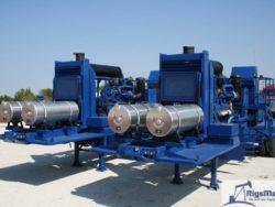 Fluid Pumping unit with HT400 Pump.