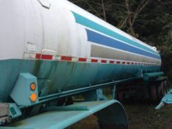 Used 7600Gl Nitrogen Bulk trailer