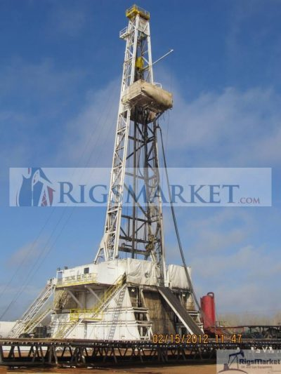 BDW 1350M 1500HP Mechanical Land Drilling Rig
