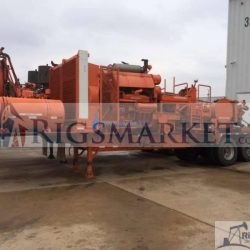 Twin Cementing Trailer with HT400 Pumps