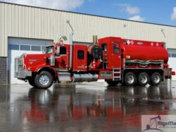 Used Hot Oiler truck