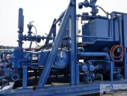 NEW TWIN CEMENTING SKID UNIT
