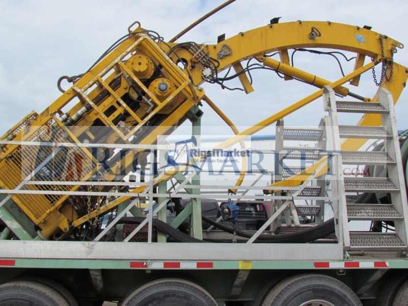 100K Trailer Mounted Stewart & Stevenson Coiled Tubing Unit – Rigs