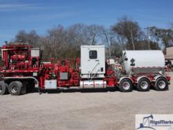 Halliburton TPU-400FH Trailer Combo Pumping Unit
