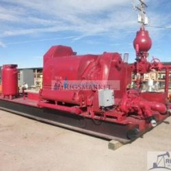 Gardner Denver PZ-8 Triplex Mud Pump