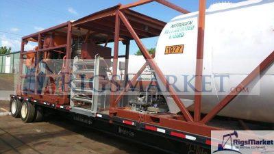 2012 Nitrogen Pump Unit, Heat Recovery