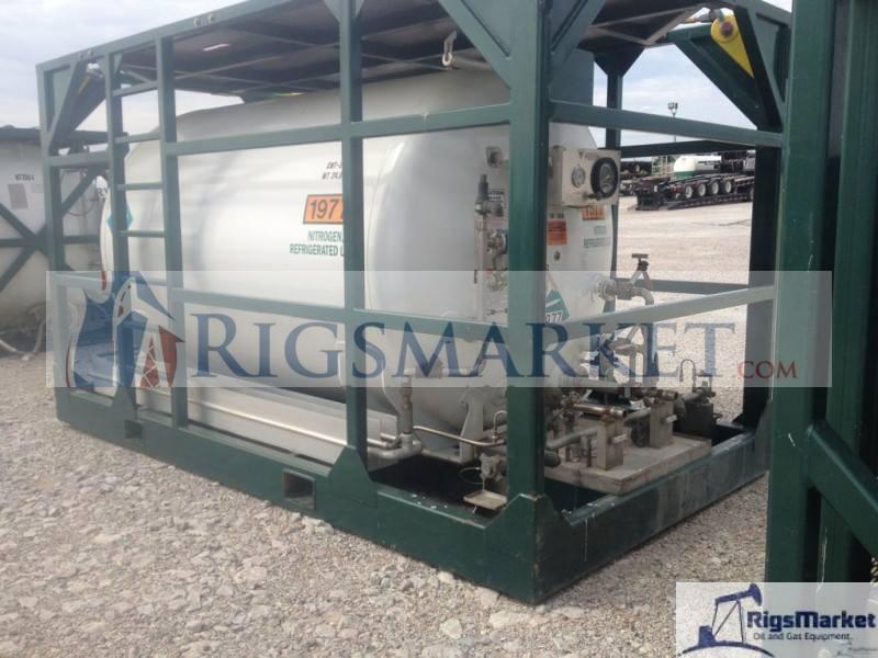 skid nitrogen pumper with tank  u2013 rigs market