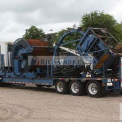Used hydra rig coil tubing unit 60K