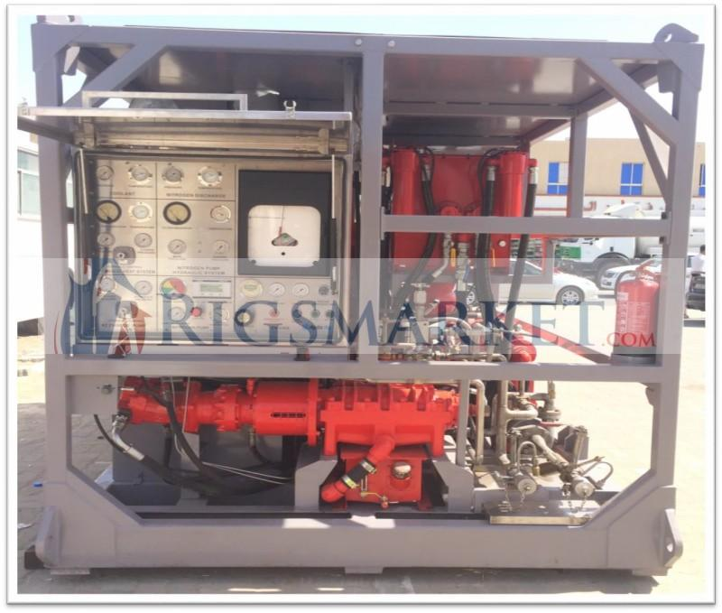 For sale: Hydra Rig 180K Skid Nitrogen Pumping Unit – Rigs Market