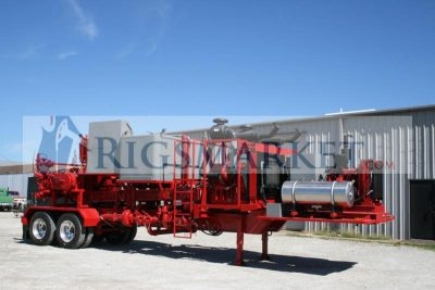 Twin Cementing Pumping unit with HT400
