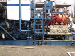 Used BJ TWIN CEMENTING SKID
