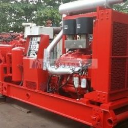 Refurbished HT400 CEMENTING PUMP skid