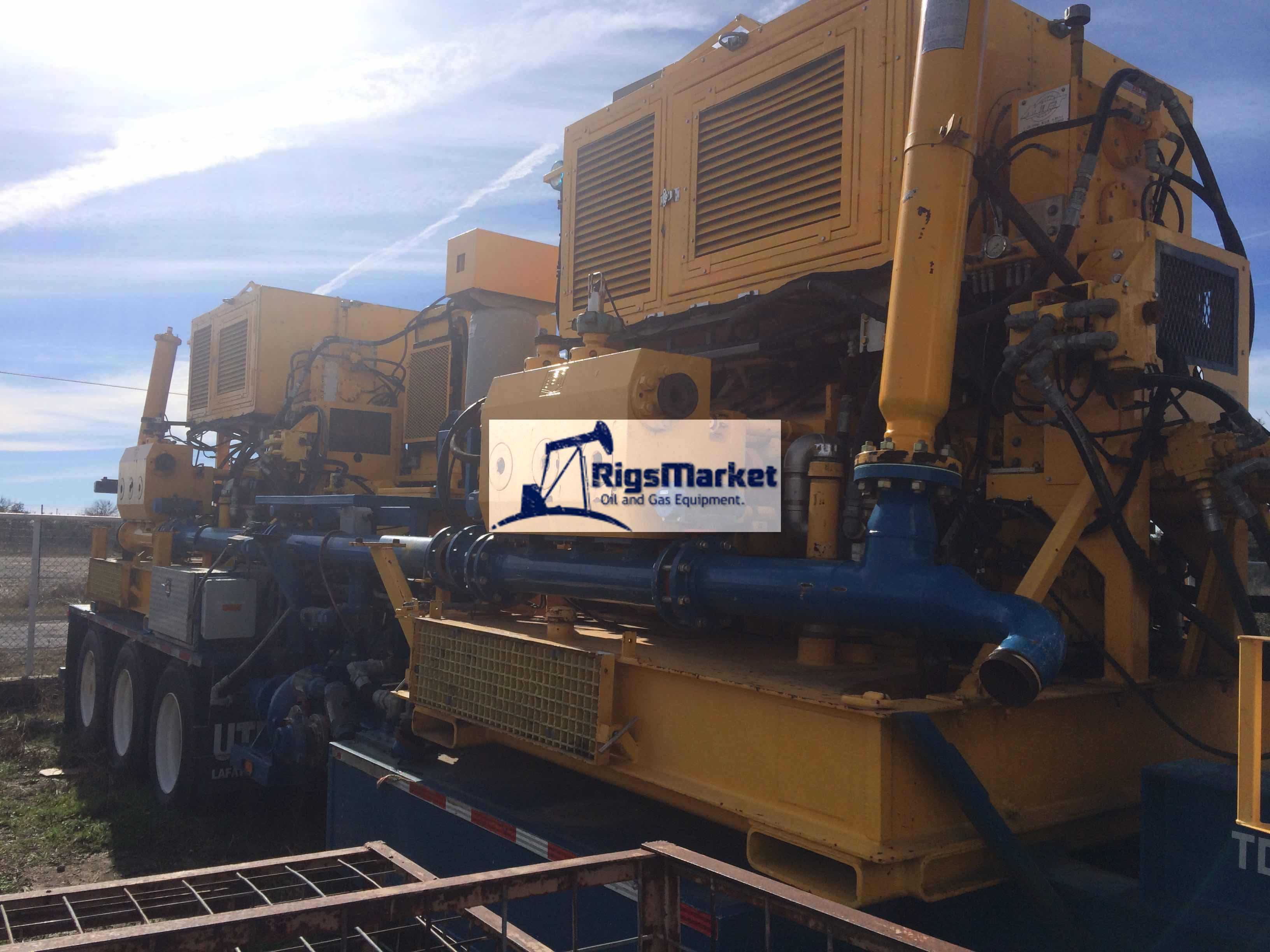 Trailer Mounted Frac Pumpers – Rigs Market