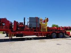 Trailer Twin Cementing Pump