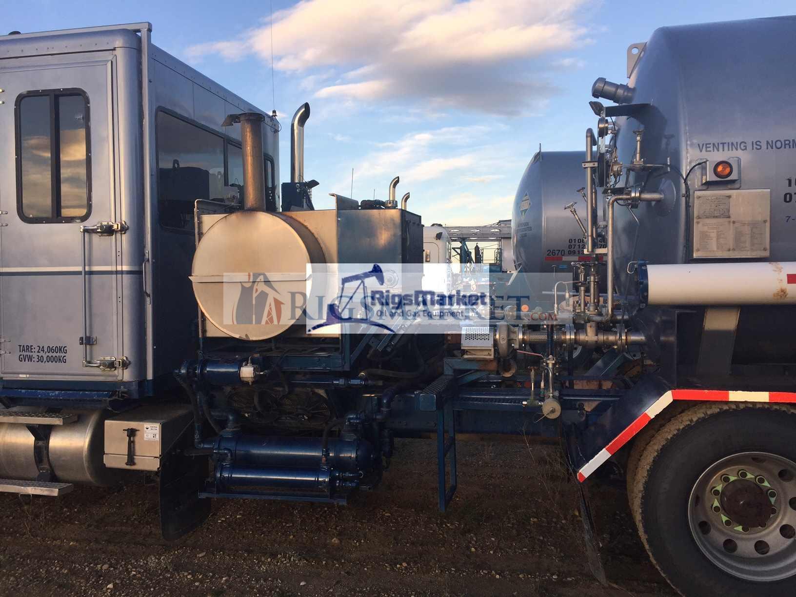 180k Bodyload Nitrogen Pumper - Rigs Market