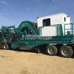 2010 Hydra Rig Coiled Tubing Trailer