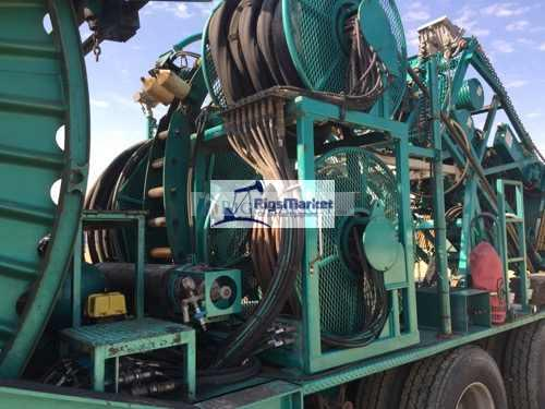 2010 Hydra Rig Coiled Tubing Trailer – Rigs Market