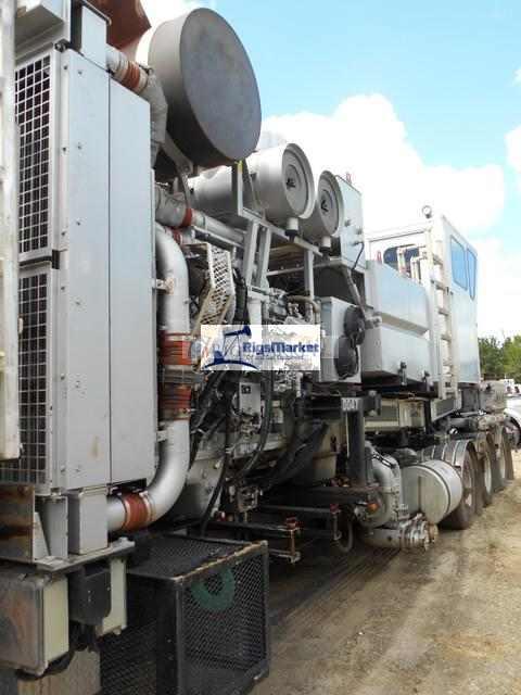2014 CVA Trailer Mounted Double Pump Unit