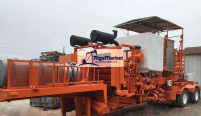 Coil Tubing Twin Fluid/Cementing Pumper 1200HP - Rigs Market