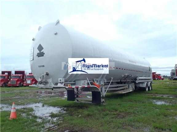 Liquid Nitrogen Bulk Transport Trailers - Rigs Market
