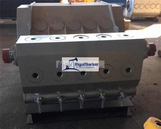 ShalePumps Quintuplex Frac Pump, 2500hp