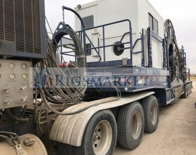 Large Pipe 2 3/8 Coiled tubing Unit - Rigs Market