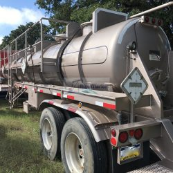 Liquid Gel Transport Trailer