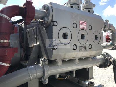 Acid Twin Pumping units.