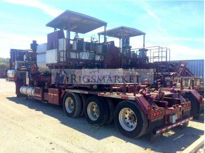 Twin Pumping units - Rigs Market