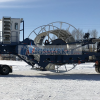 Large Pipe reel trailer